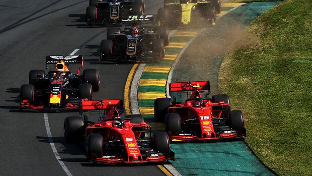Ferrari - GP Australien 2019