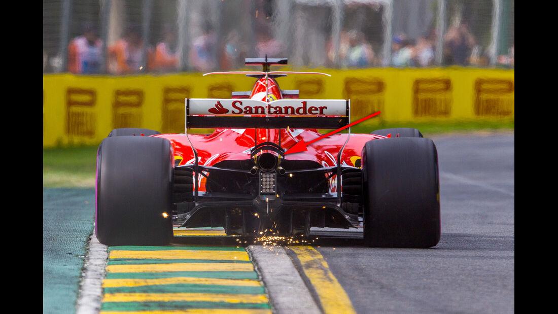 Ferrari - GP Australien - Formel 1 - Technik - 2017