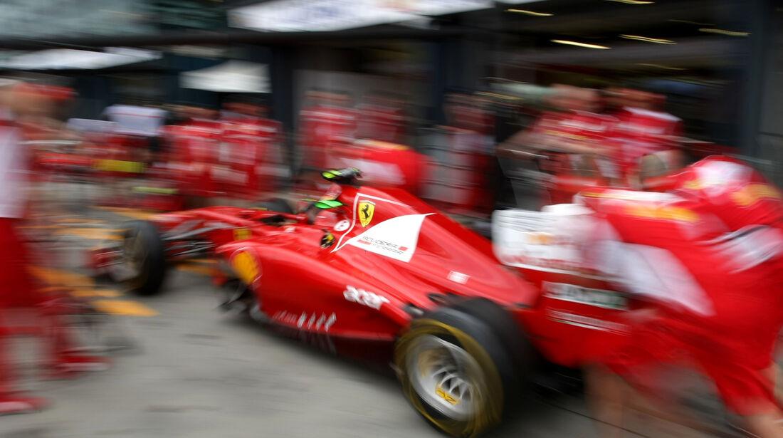 Ferrari - GP Australien - Melbourne - 16. März 2012