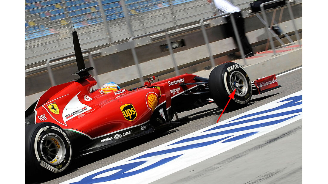 Ferrari - GP Bahrain 2014 Technik