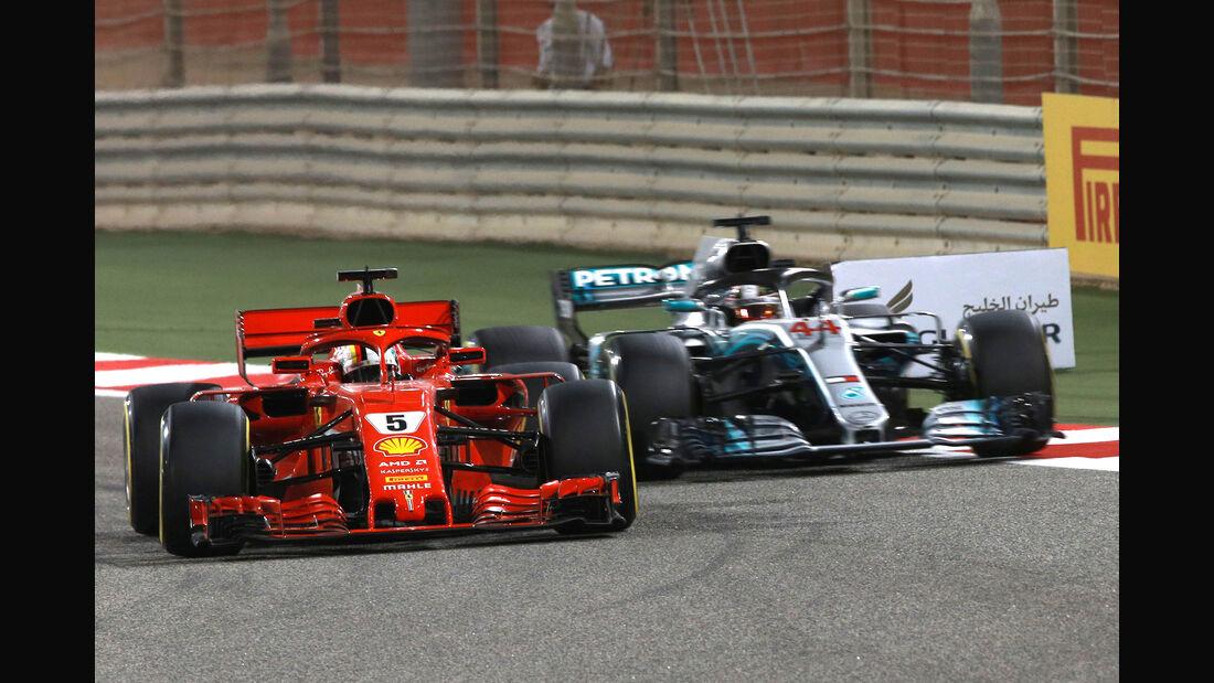Ferrari - GP Bahrain 2018