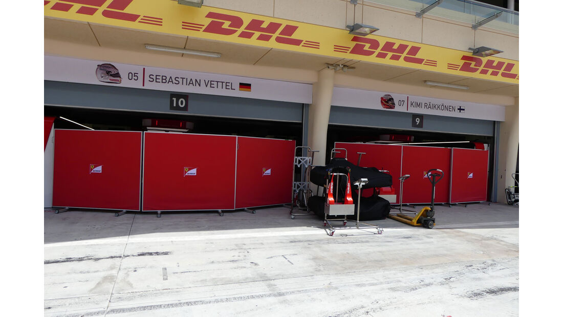 Ferrari - GP Bahrain - Sakhir - Mittwoch - 12.04.2017
