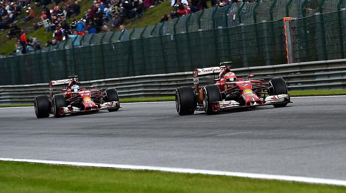 Ferrari - GP Belgien 2014