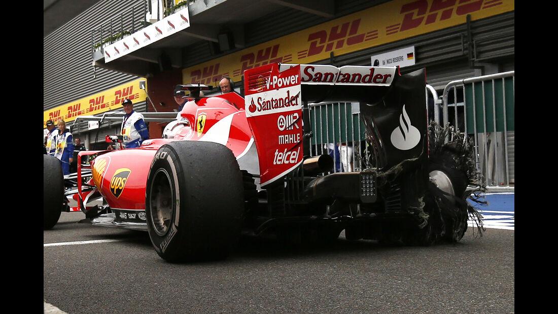 Ferrari - GP Belgien 2015