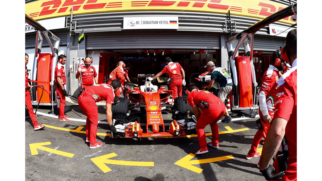 Ferrari - GP Belgien 2016