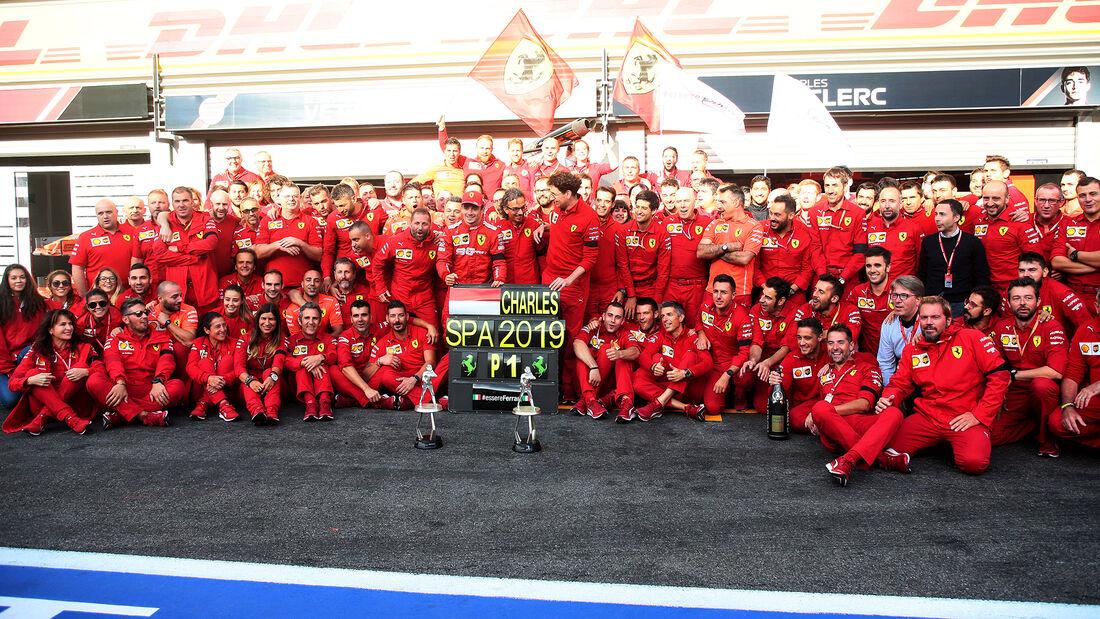 Ferrari - GP Belgien 2019