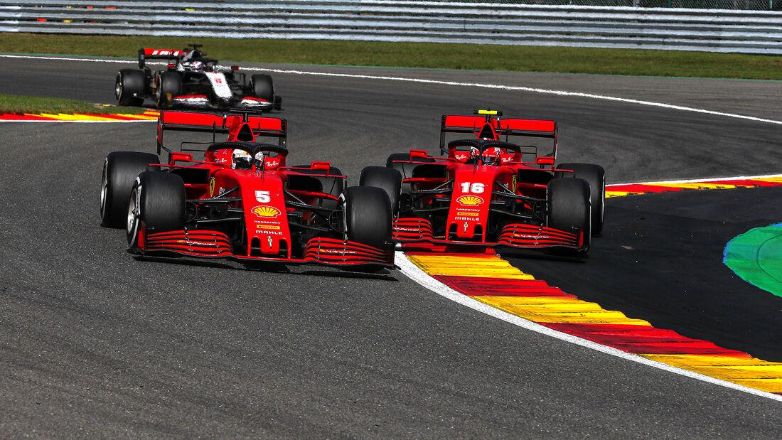 Ferrari - GP Belgien 2020