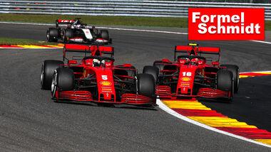 Ferrari - GP Belgien 2020 - Formel Schmidt Teaser