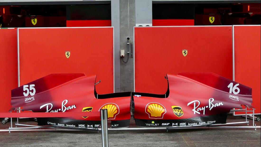 Ferrari - GP Belgien - Spa-Francorchamps - 26. August 2021