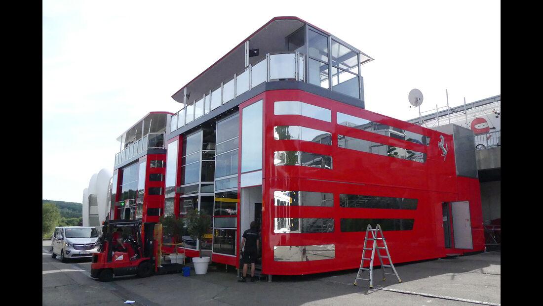 Ferrari - GP Belgien - Spa-Francorchamps - Formel 1 - 23. August 2017