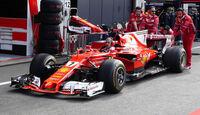 Ferrari - GP Belgien - Spa-Francorchamps - Formel 1 - 24. August 2017