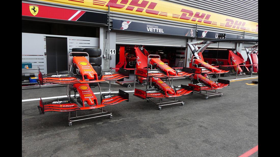 Ferrari - GP Belgien - Spa-Francorchamps - Formel 1 - Donnerstag - 29.8.2019