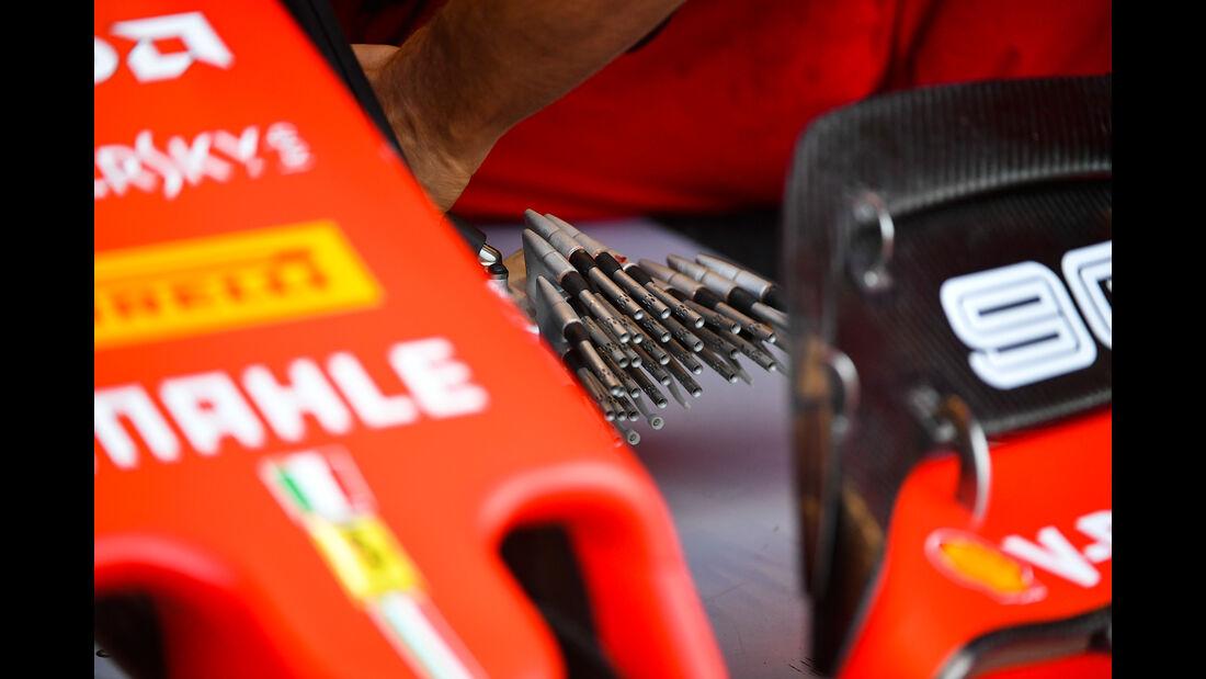 Ferrari - GP Belgien - Spa-Francorchamps - Formel 1 - Freitag - 30.08.2019