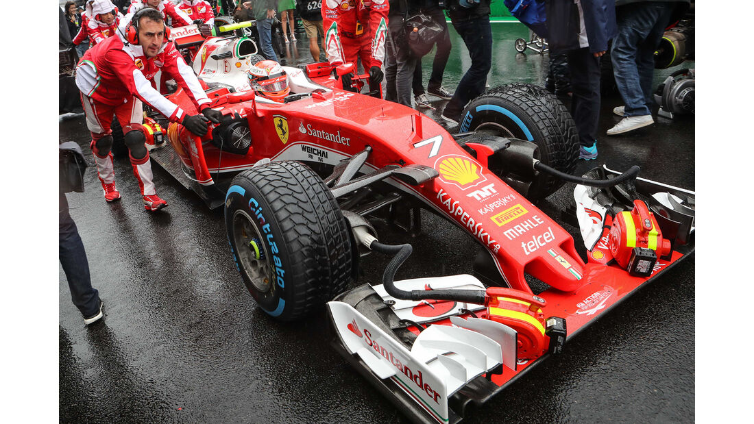 Ferrari - GP Brasilien 2016