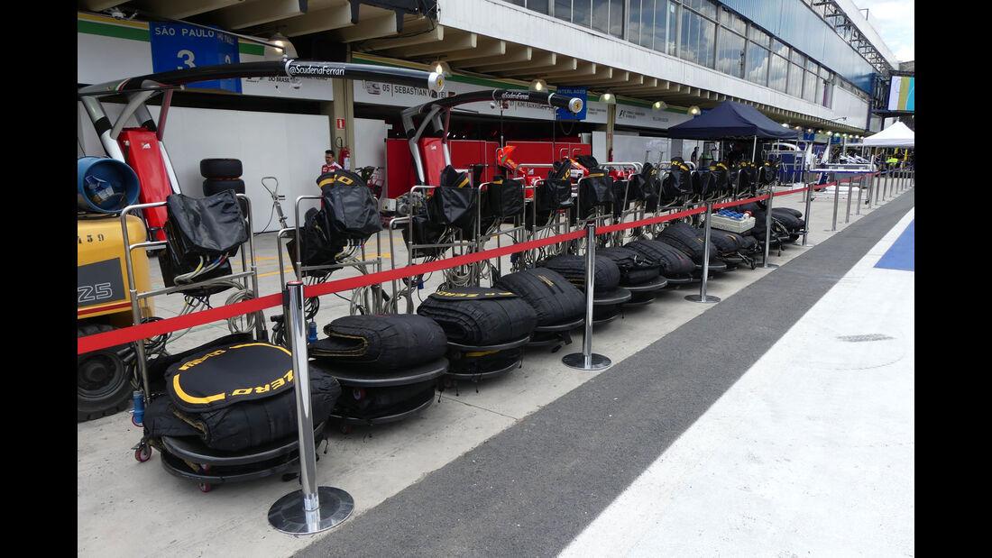 Ferrari - GP Brasilien 2016 - Sao Paulo - Interlagos - Mittwoch - 9.11.2016