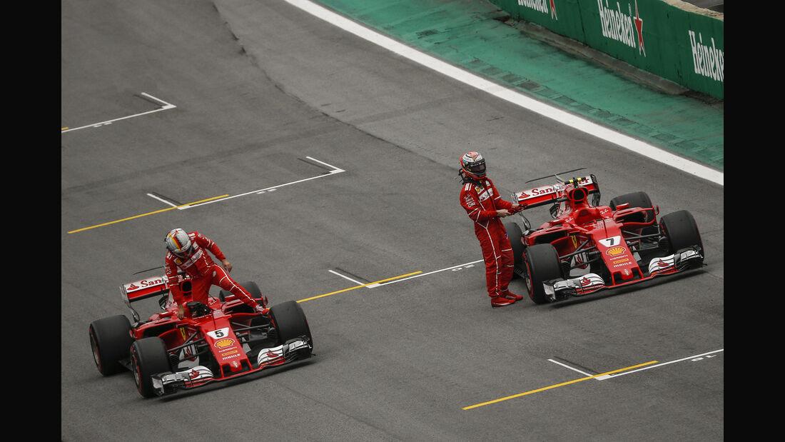 Ferrari - GP Brasilien 2017