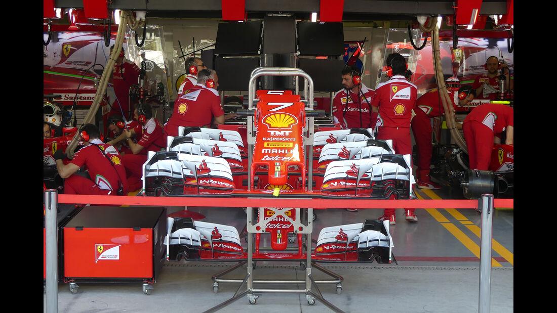 Ferrari - GP Brasilien - Interlagos - Freitag - 11.11.2016
