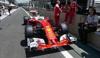 Ferrari - GP Brasilien - Sao Paulo - Interlagos - Donnerstag - 10.11.2016