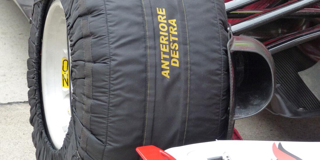 Ferrari - GP China 2014 - Technik