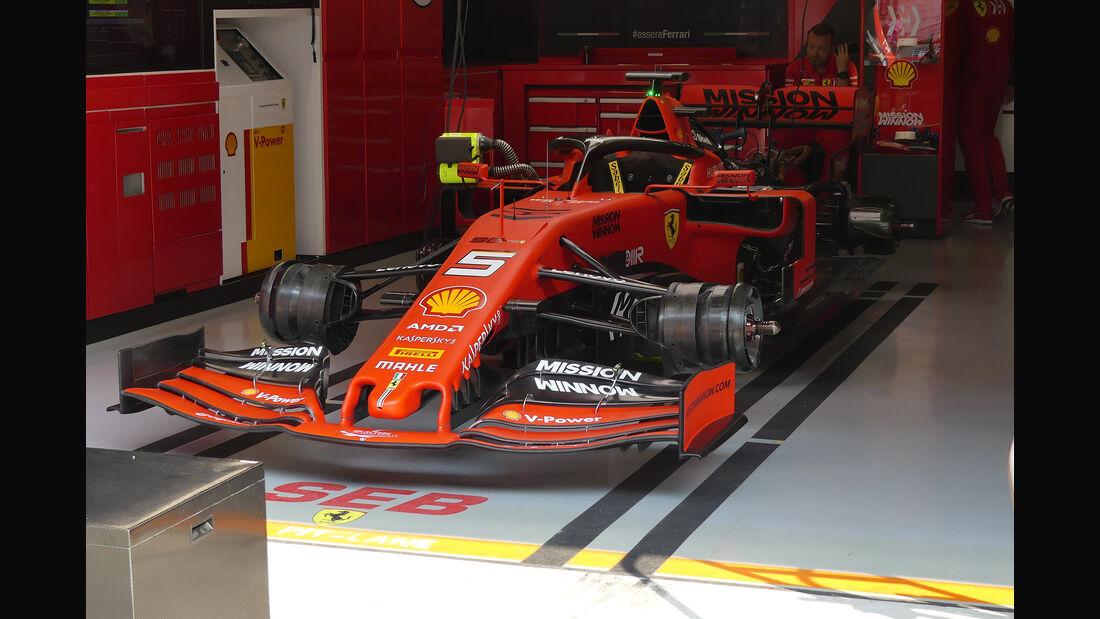 Ferrari - GP China - Shanghai - Formel 1 - Freitag - 12.4.2019