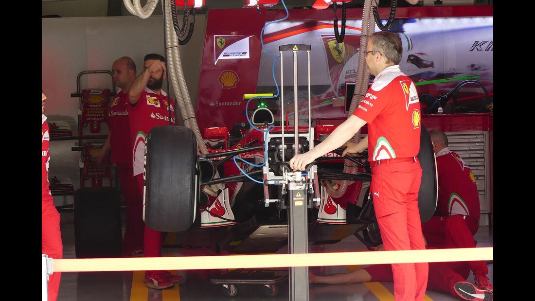 Ferrari - GP China - Shanghai - Freitag - 15.4.2016