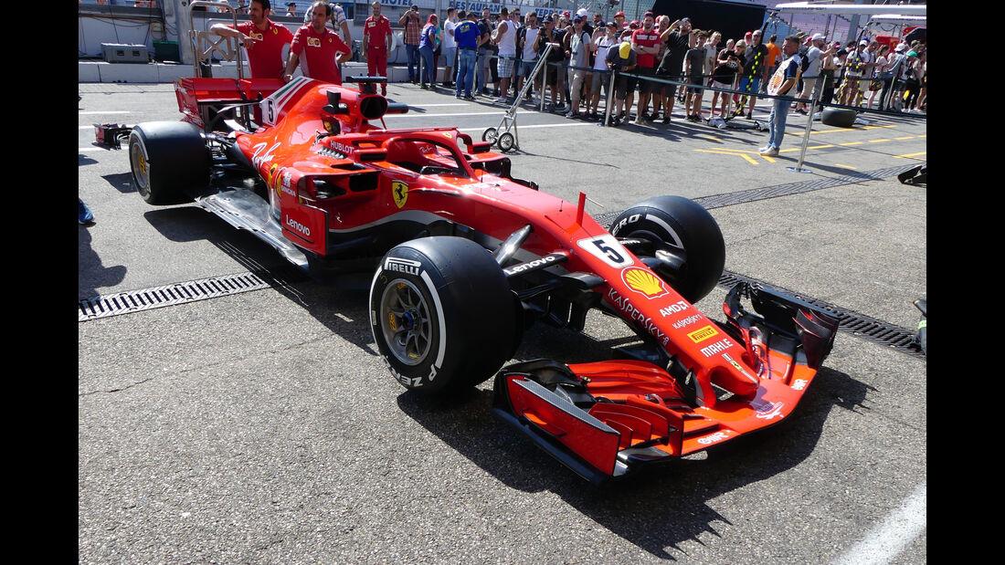 Ferrari - GP Deutschland - Hockenheim - Formel 1 - Donnerstag - 19.7.2018