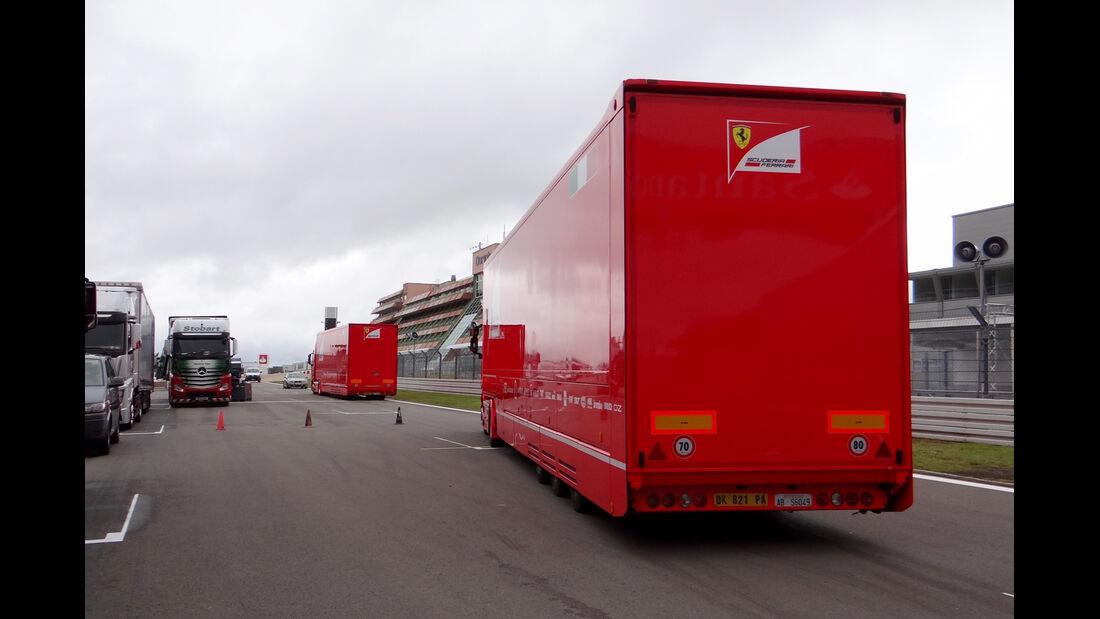Ferrari - GP Deutschland - Nürburgring - 3. Juli 2013