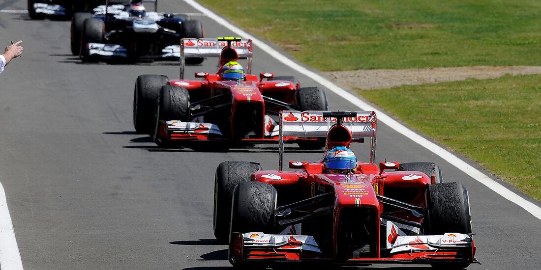 Ferrari - GP England 2013