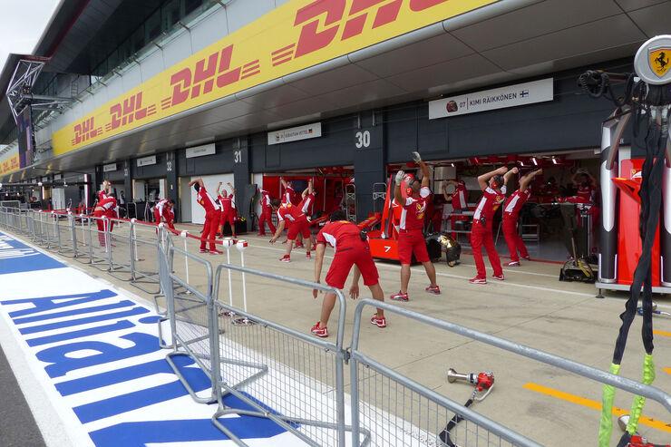 Ferrari - GP England - Silverstone - Donnerstag - 2.7.2015