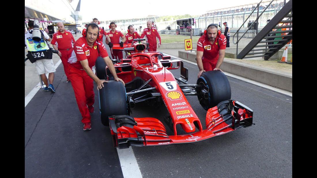Ferrari - GP England - Silverstone - Formel 1 - Freitag - 6.7.2018