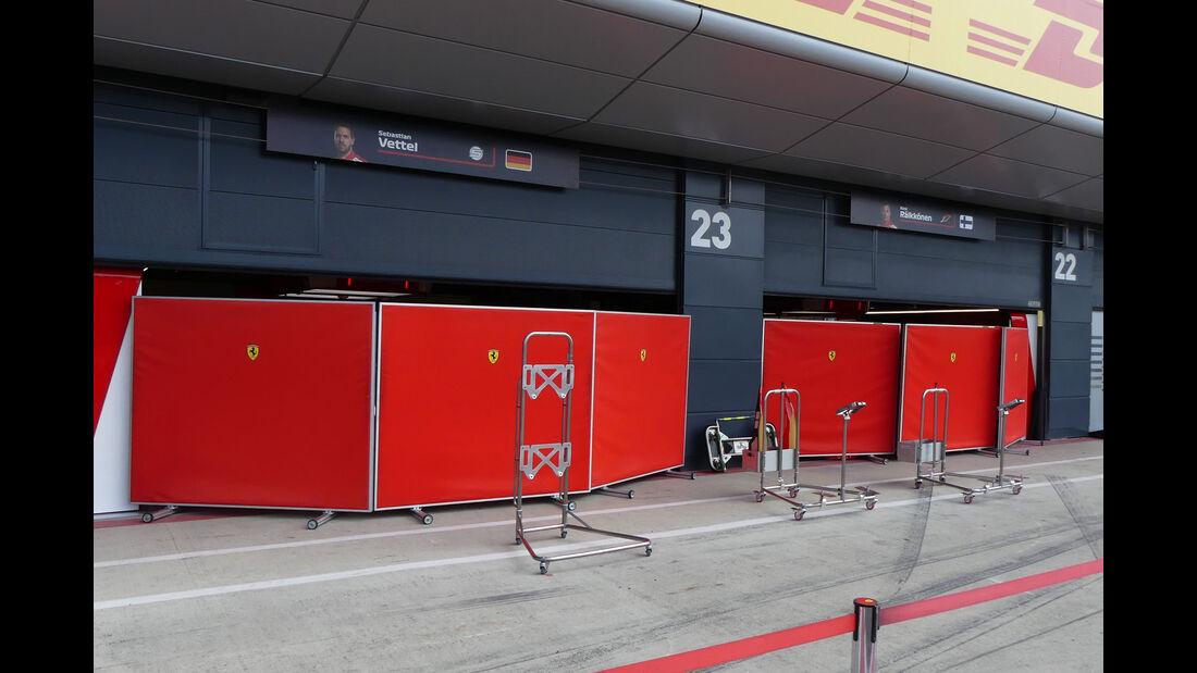 Ferrari - GP England - Silverstone - Formel 1 - Mittwoch - 4.7.2018