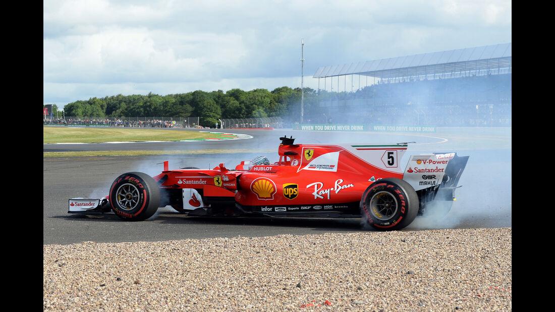 Ferrari - GP England - Silverstone - Sebastian Vettel - 2017