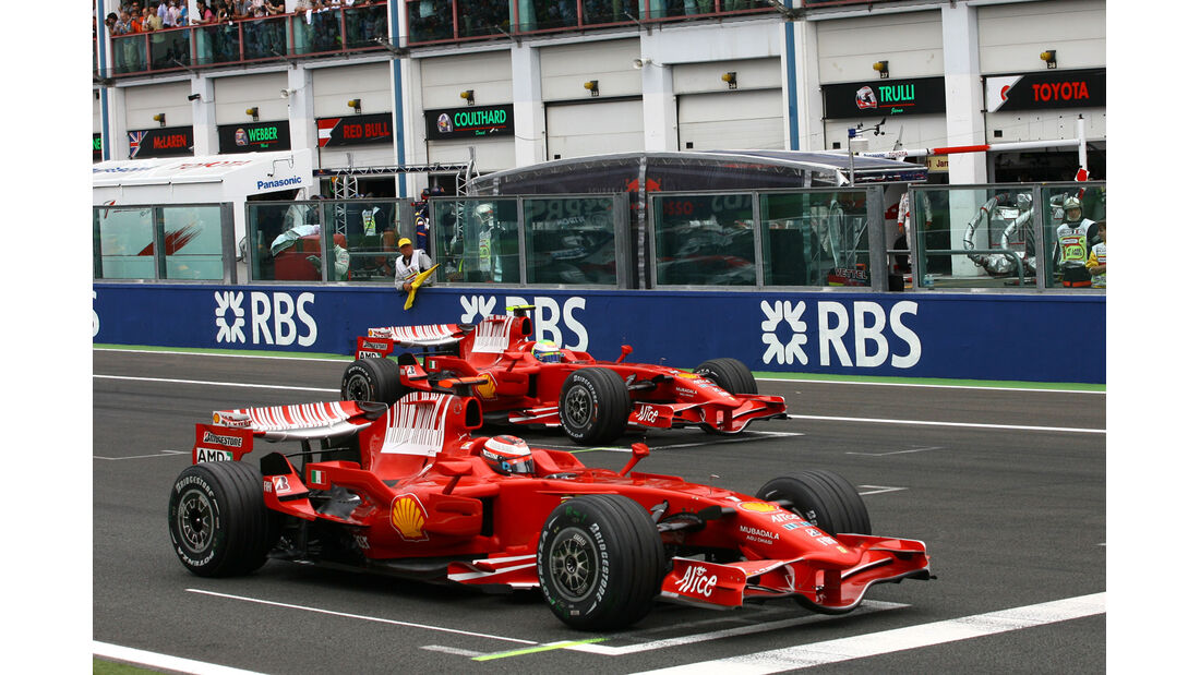 Ferrari - GP Frankreich 2008