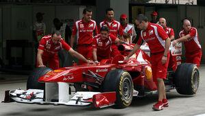 Ferrari - GP Indien - 27.10.2011