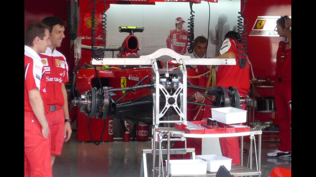 Ferrari GP Italien 2010