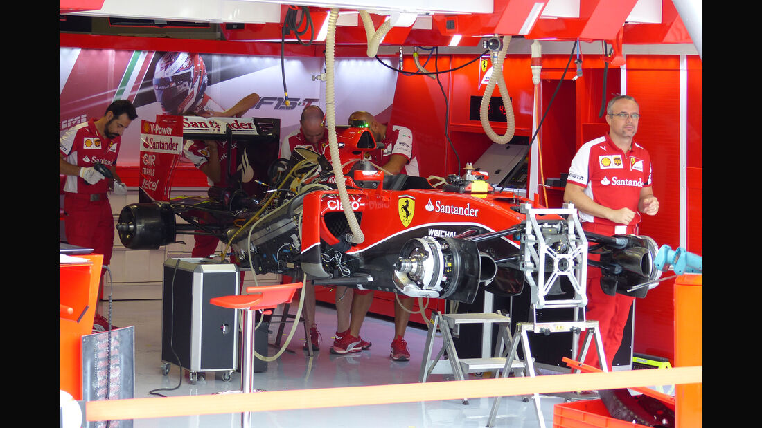 Ferrari - GP Italien - Monza - Donnerstag - 3.9.2015