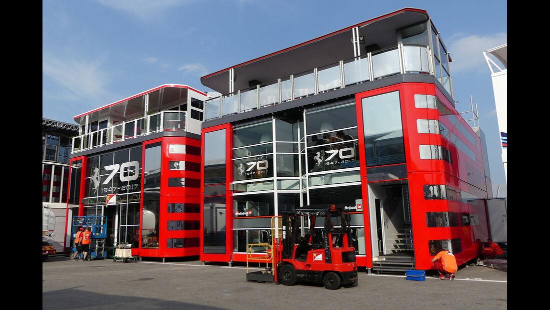 Ferrari  - GP Italien - Monza - Formel 1 - 30. August 2017