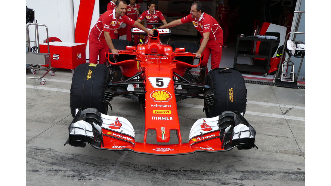 Ferrari - GP Italien - Monza - Formel 1 - 31. August 2017