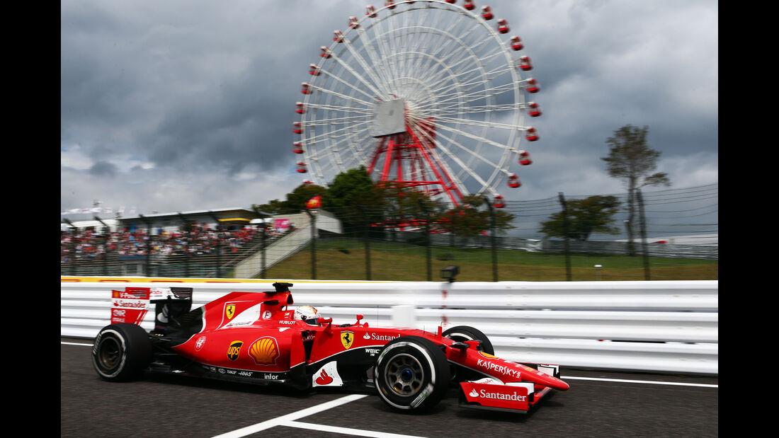 Ferrari - GP Japan 2015