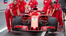 Ferrari - GP Japan - Suzuka - Donnerstag - 4.10.2018