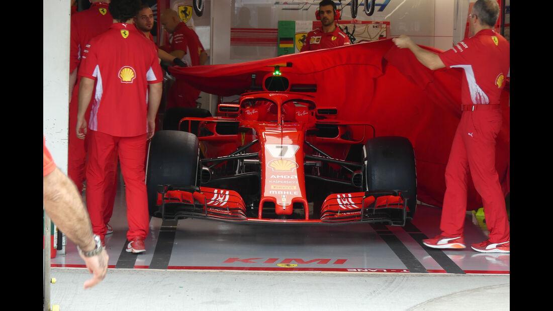 Ferrari - GP Japan - Suzuka - Formel 1 - Freitag - 5.10.2018