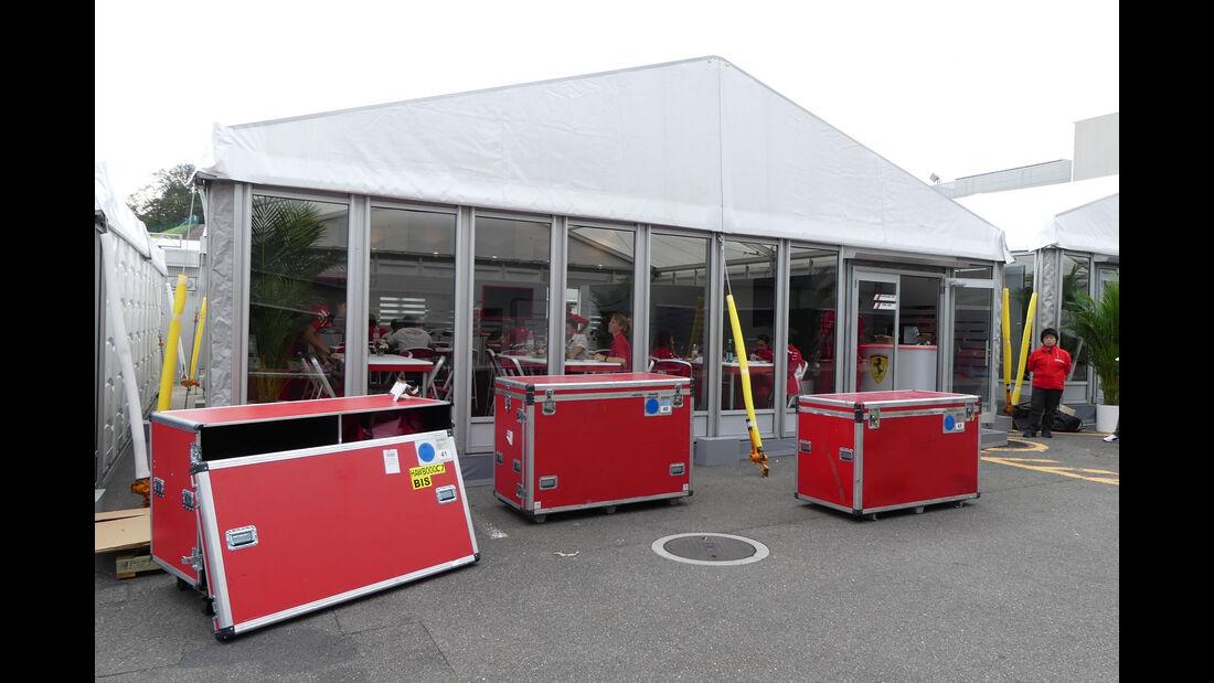 Ferrari - GP Japan - Suzuka - Mittwoch - 3.10.2018