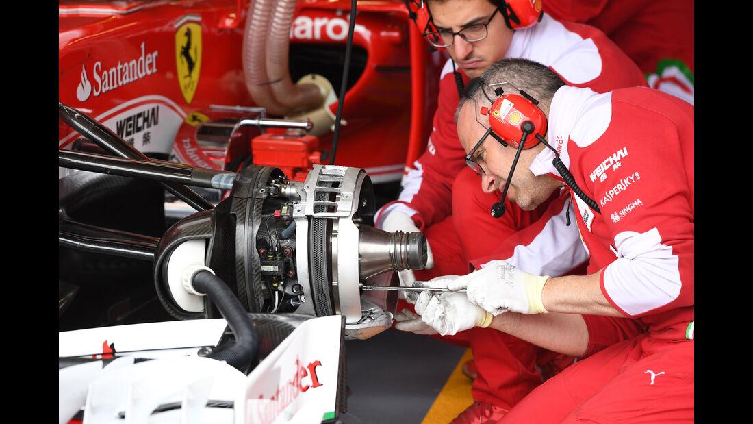 Ferrari - GP Kanada - Montreal - Freitag - 10.6.2016