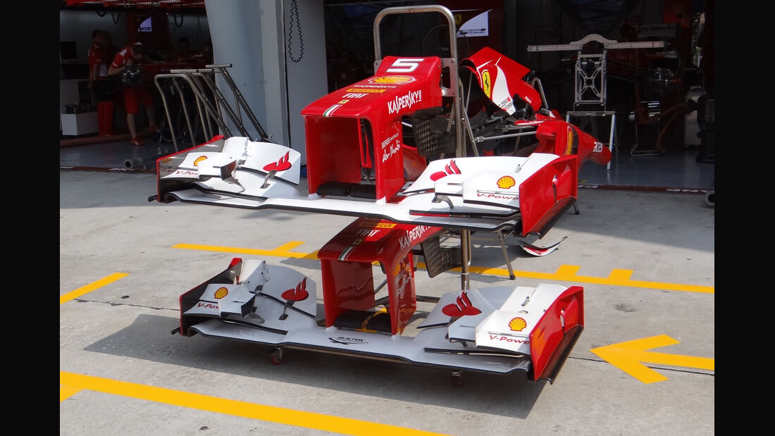 Ferrari - GP Malaysia - 22. März 2012