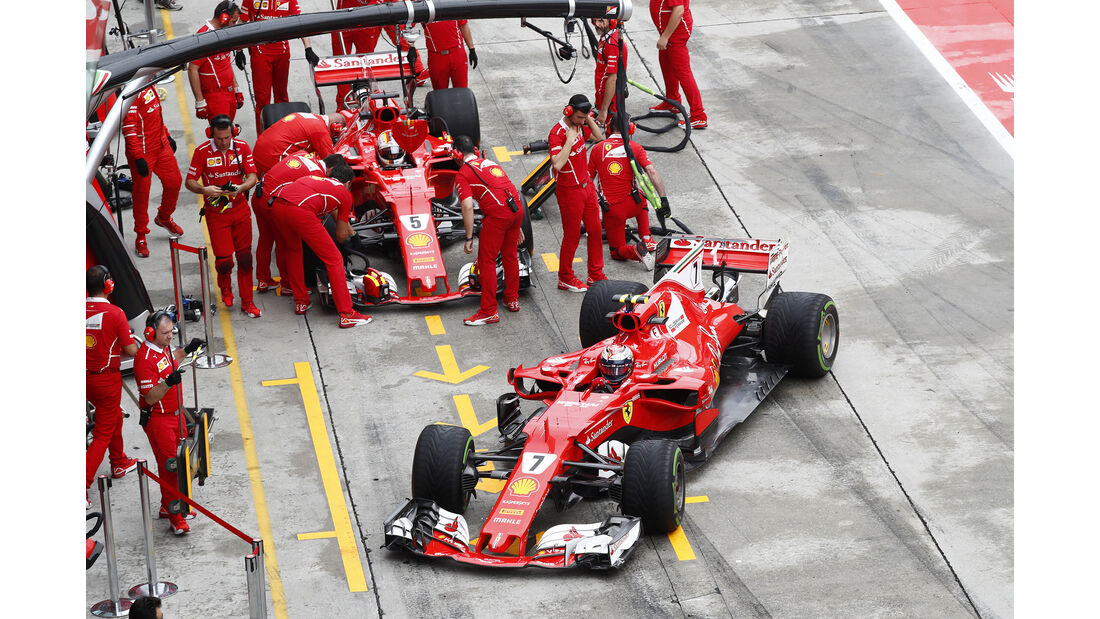 Ferrari - GP Malaysia - Sepang - 29. Oktober 2017