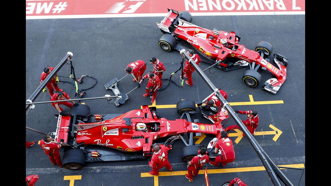 Ferrari - GP Mexiko 2017
