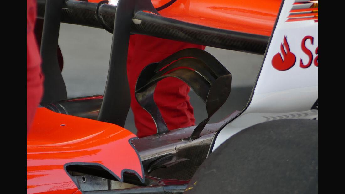 Ferrari - GP Mexiko - Formel 1 - Freitag - 27.10.2017
