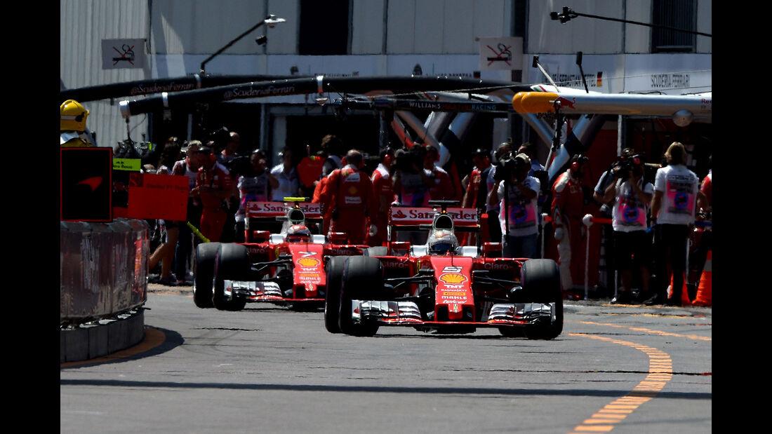 Ferrari - GP Monaco 2016