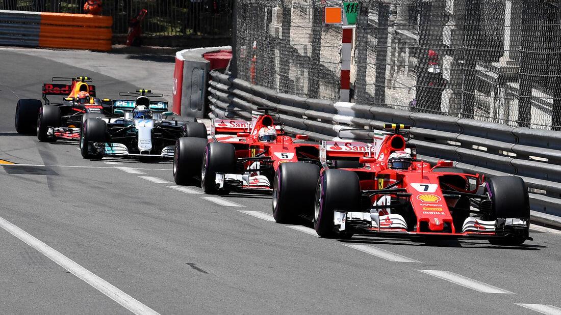 Ferrari - GP Monaco - Formel 1 - 2017