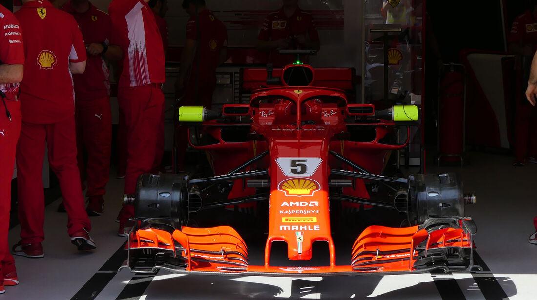 Ferrari - GP Monaco - Formel 1 - Donnerstag - 24.5.2018